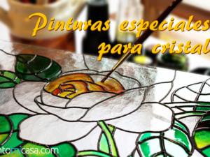 Tipos de pinturas especiales para pintar vidrio o cristal