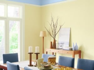 Amarillo pastel, recomendaciones en pintura de paredes