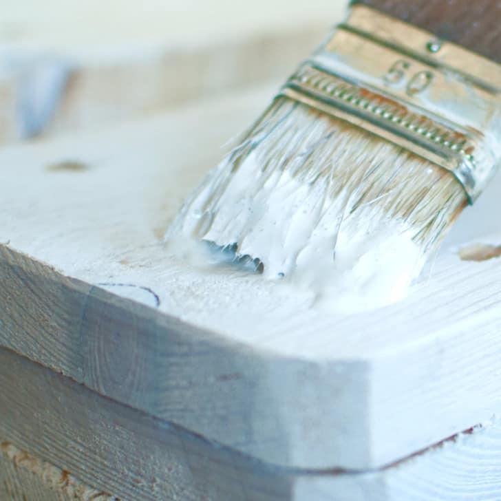 White pine paint