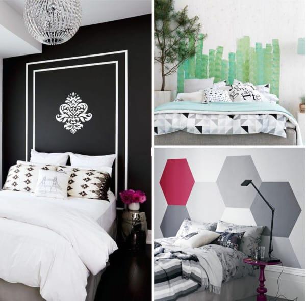 Cabeceros de camas pintados